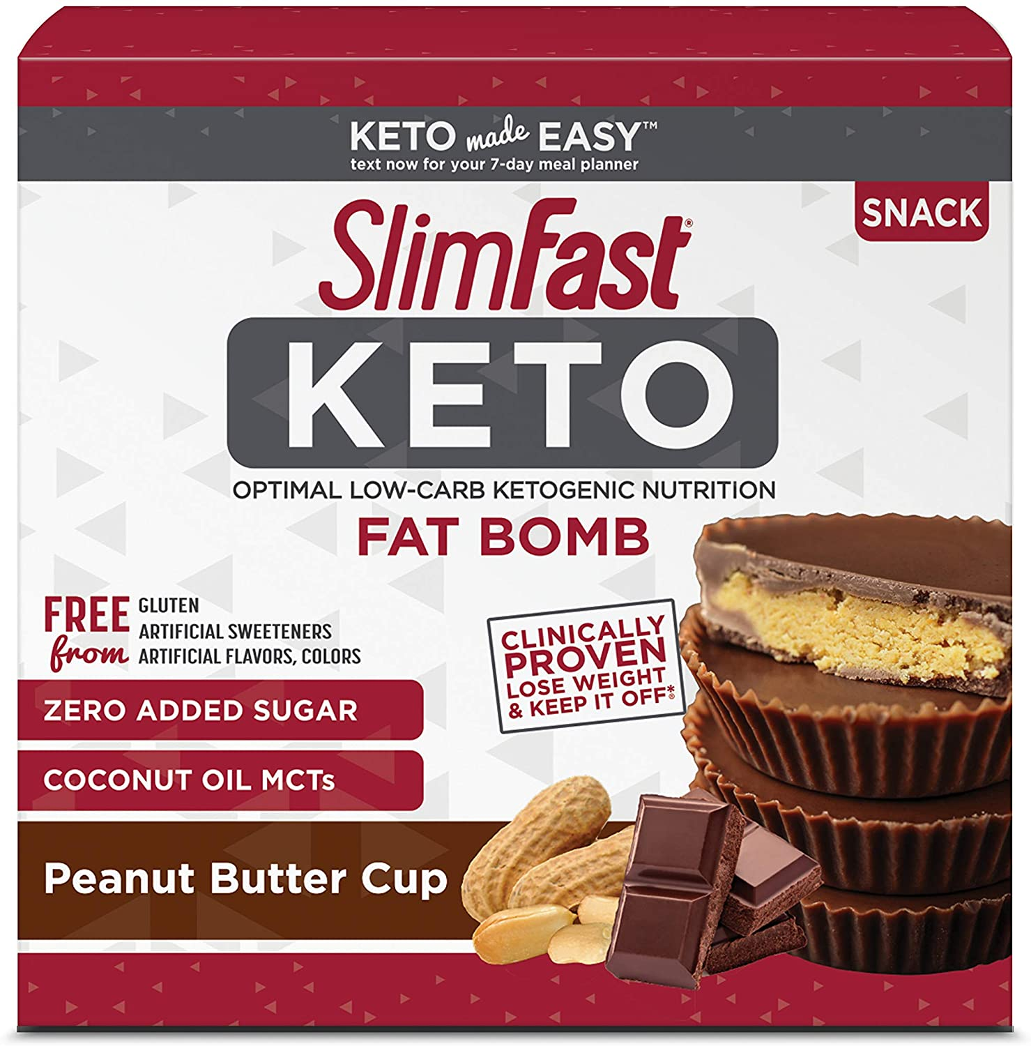 SlimFast Keto Fat Bombs