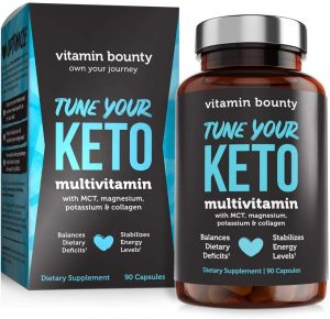 Tune Your Keto – Ketogenic Multivitamin